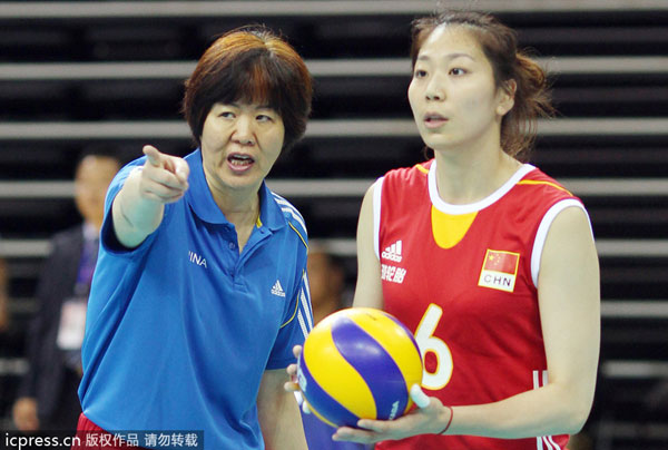 Women's volleyball team moving forward under Lang's charge ...