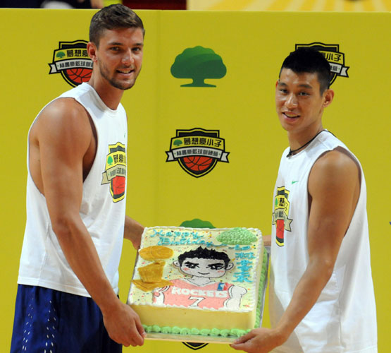Jeremy Lin Celebrates Birthday In Taipei Basketball Clinic
