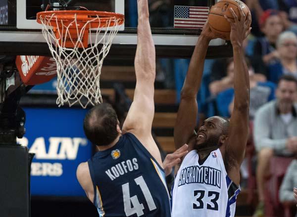 Randolph, Grizzlies beat Kings 97-86[2]- Chinadaily com cn