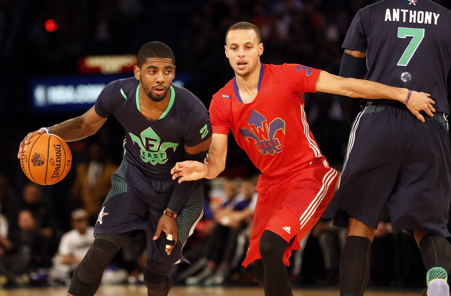 new style 654b9 3f598 East rally to win All-Star game, Irving named MVP[1 ...