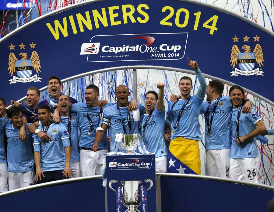 Magic Moments Help City Sink Sunderland In League Cup Final Manchester