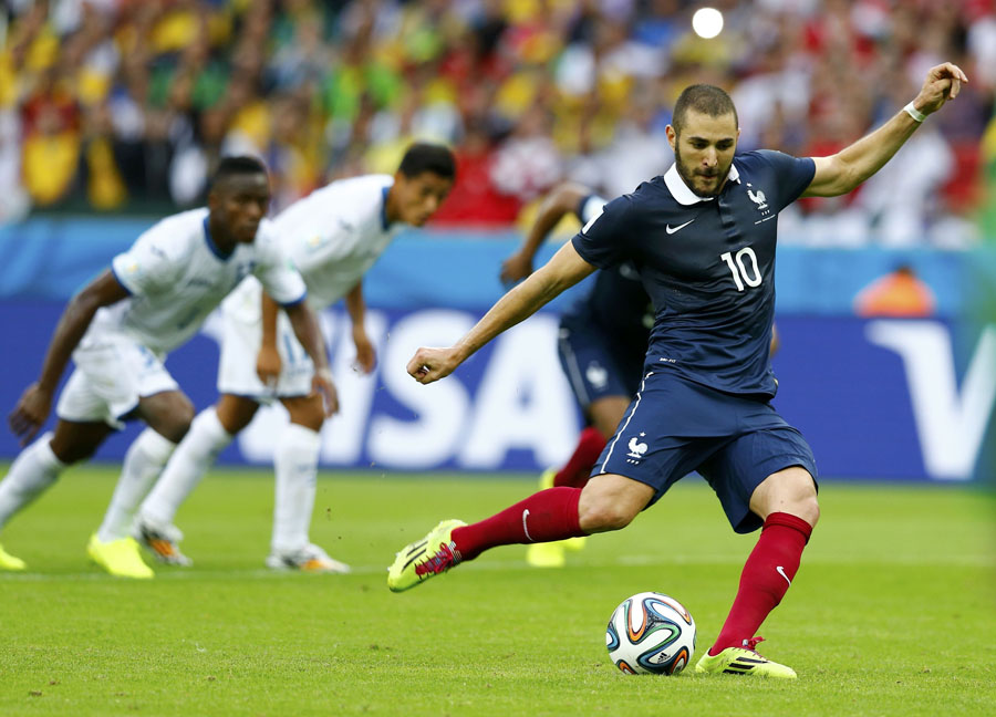 France 3-0 Honduras: Karim Benzema steals the show (with