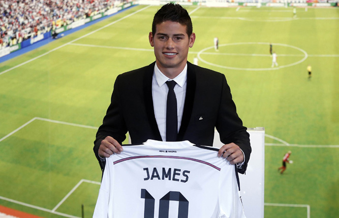 James Rodriguez signs 6-year deal with Real Madrid 2 - Chinadaily.com.cn dcdd47784