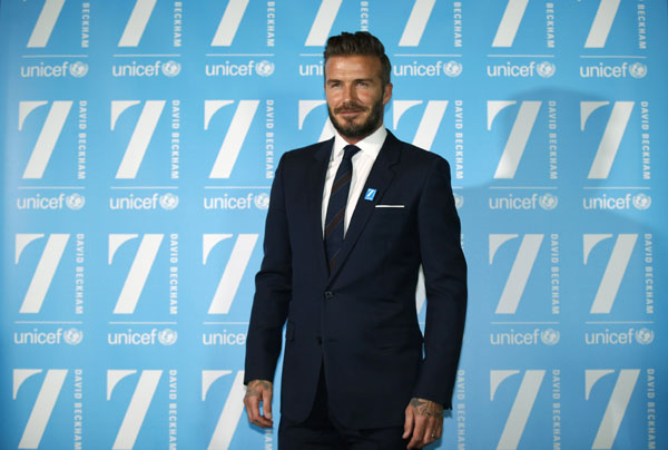 dbce531258fc9 David Beckham launches '7' fund for kids in danger[1]- Chinadaily.com.cn