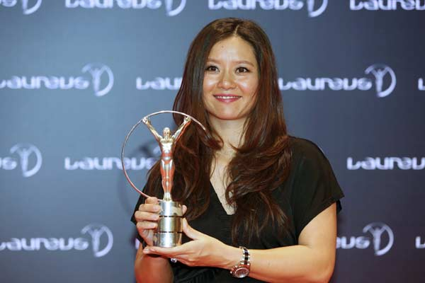 Li Na named Laureus exceptional award winner