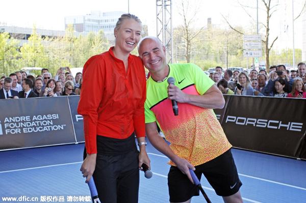 Sharapova 'ready' to seek fourth title