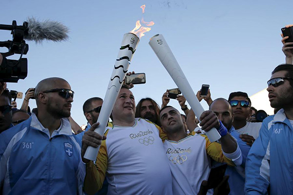 Rio 2016 torch to begin 95-day Brazil relay[2]- Chinadaily com cn