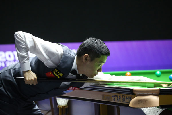 Ding Junhui: 'This year, I'm doing good'