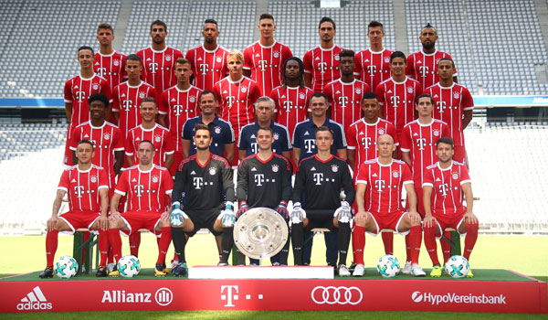 Bayern Munich favorites as 2017/2018 Bundesliga season gets