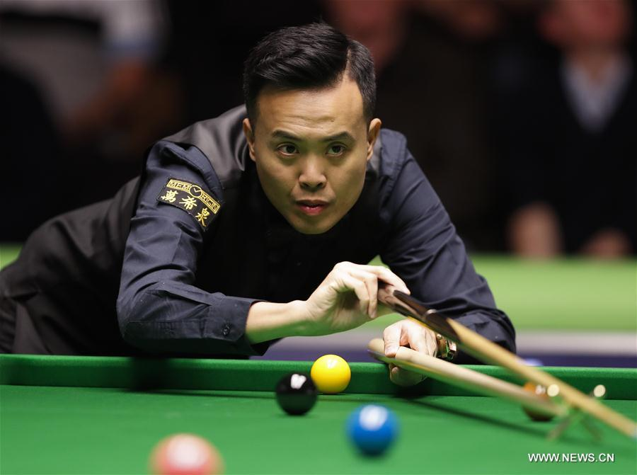 Highlights of 2017 UK Snooker Championship Day 1[13]- Chinadaily.com.cn