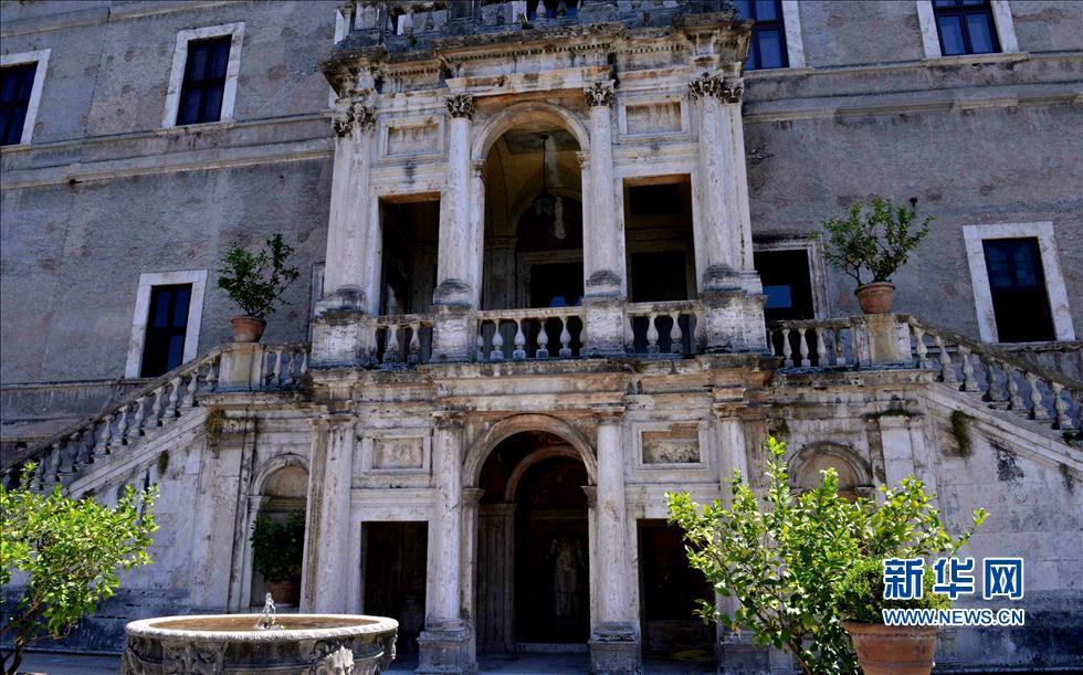 探访古罗马皇家花园建筑 哈德良别墅与文艺复兴建筑群伊斯特别墅 高清