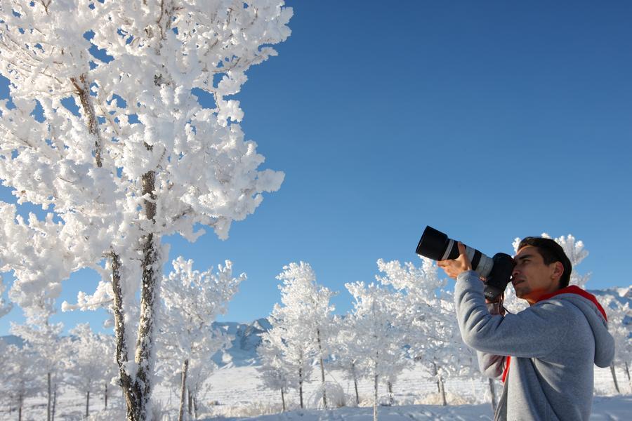 Winter scenery of Tianshan Mountain in Xinjiang[1]