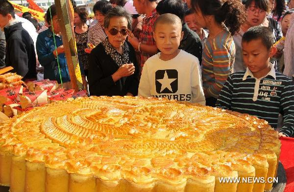 Moon Cake Feast Held In Nothern China 1 Chinadaily Com Cn