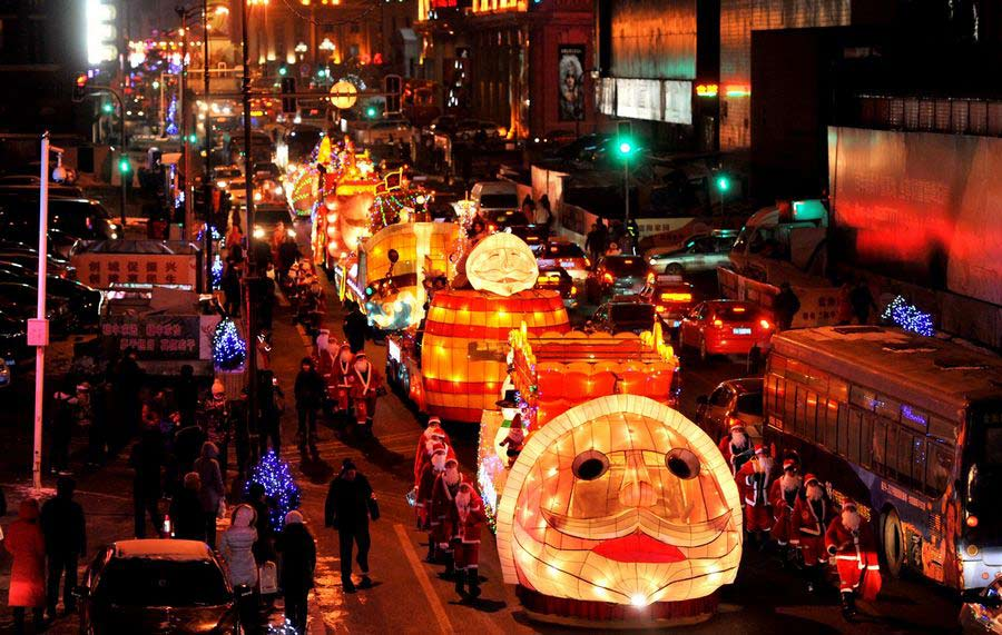 Photo special: China celebrating Christmas in its own way[14 ...