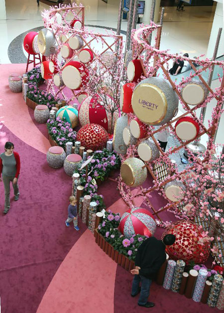Chinese Lunar New Year decorations3- Chinadaily.com.cn