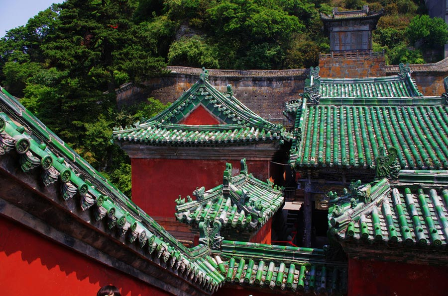 ancient building complex in wudang mountain ab 17046231