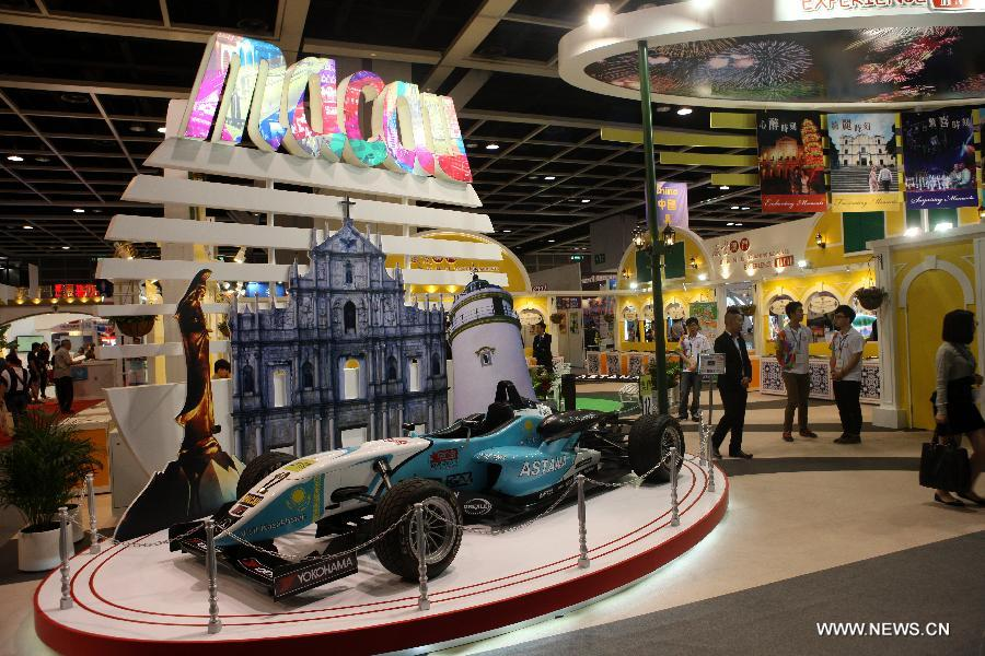 D Exhibition Hong Kong : Th hong kong int l travel expo kicks off