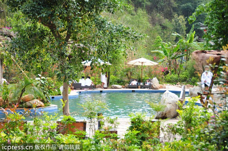 Top 10 Hot Springs In China 9 Chinadaily Com Cn
