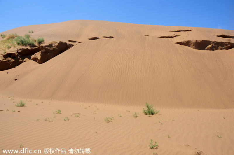Top 5 most beautiful deserts in China[3]- Chinadaily com cn