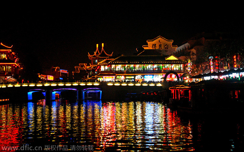 Top 10 Most Attractive Chinese Cities At Night 1