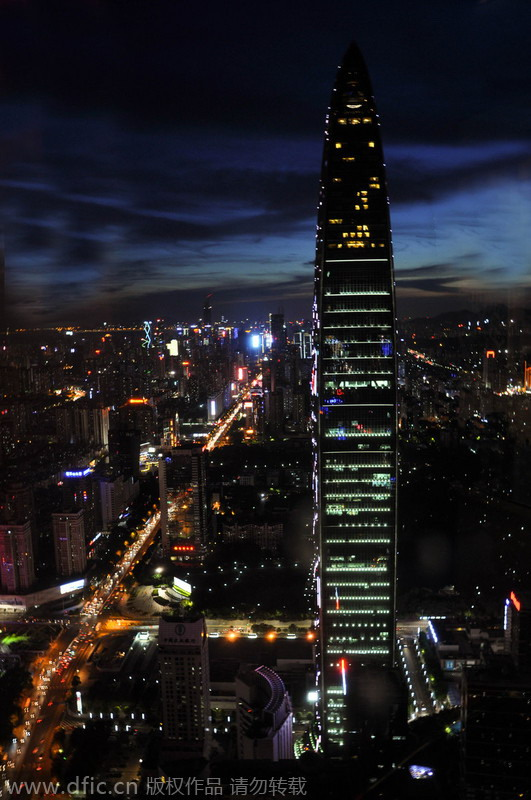 Top 10 Most Attractive Chinese Cities At Night[7