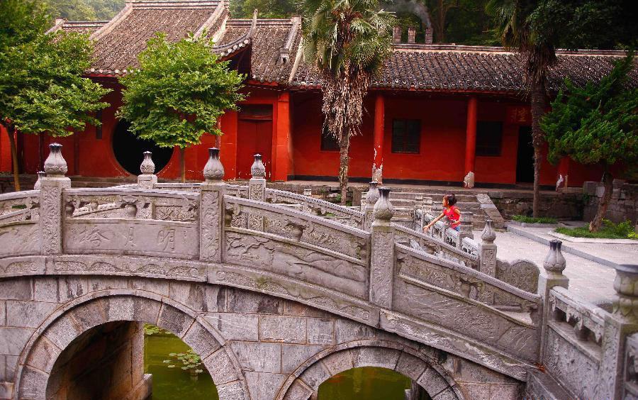 xinhua china anhui laian pond cypress scenery scenery - 900×564