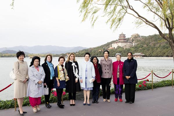 Beijing municipal parks launch APEC travel routes