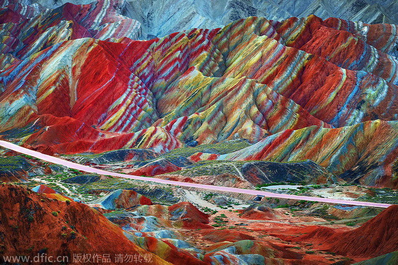 world s most colorful landscapes 1 chinadaily com cn