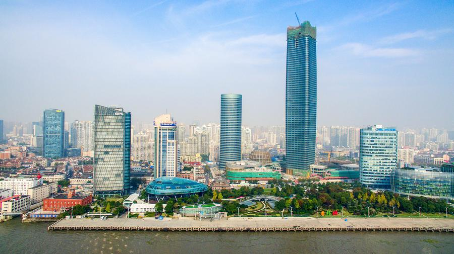 Baiyulan Plaza: highest building in Puxi of Shanghai[6 ...