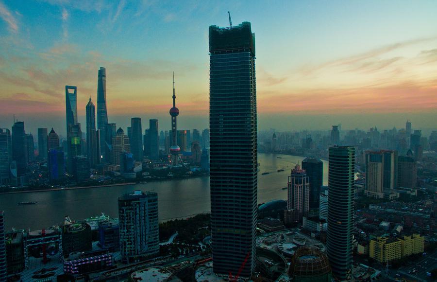 Baiyulan Plaza: highest building in Puxi of Shanghai[1 ...