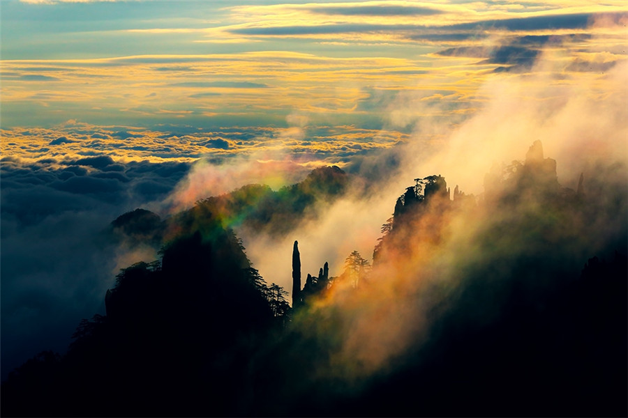 breathtaking scenery of huangshan mountain captured on images cayo largo breathtaking scenery 8245