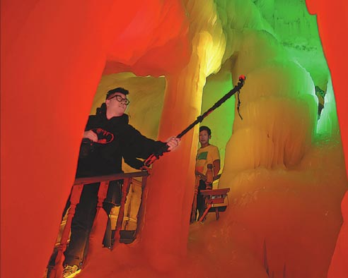 From dry cave to spooky ice cave Ningwu delivers