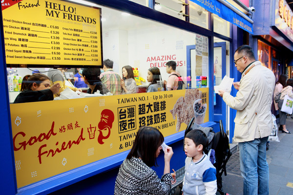 Uks Foodies Savoring Flavors From The Street1 Chinadaily