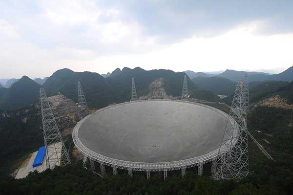 Scenic spot around telescope to open to tourists[2]- Chinadaily com cn