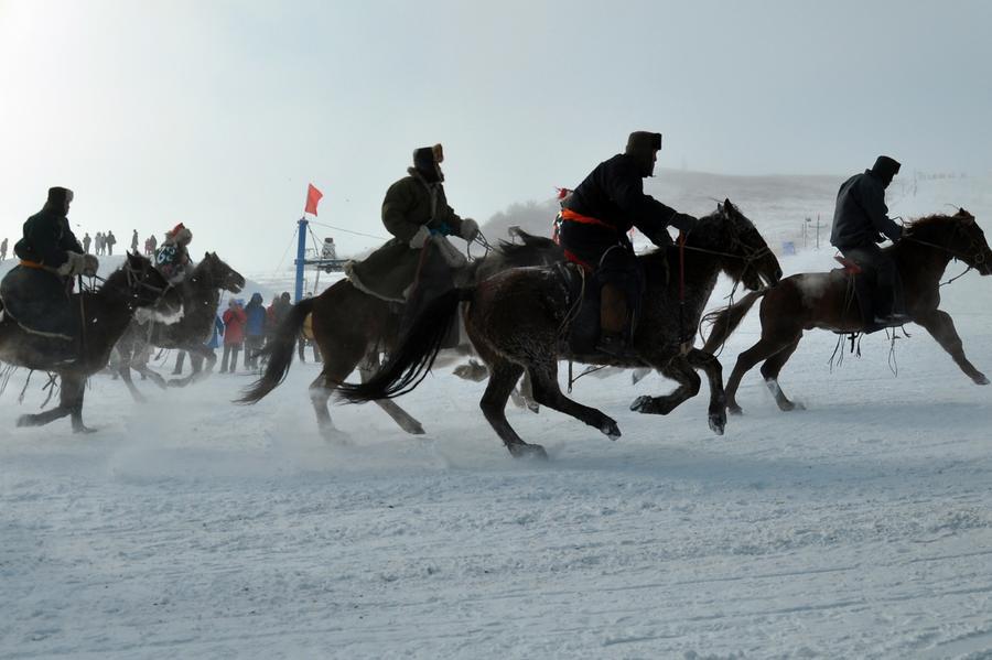 2017 Hulun Buir Ice and Snow Festival kicks off