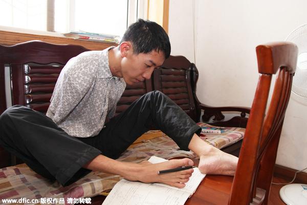 Kris Wu's long legs trigger envy