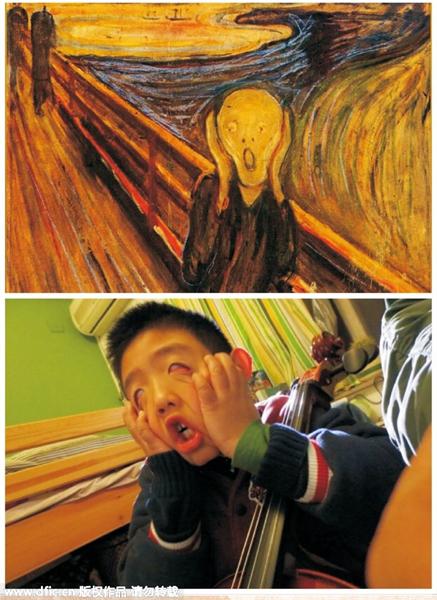 Reenact Famous Paintings