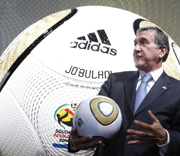 南非世界杯用球名称_南非世界杯比赛用球\