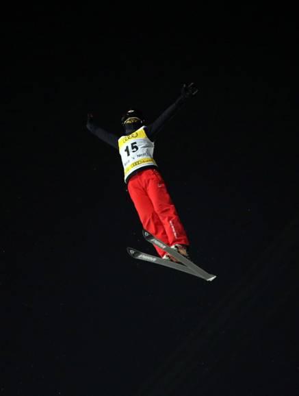 奥迪自由滑雪空中技巧世界杯鸟巢开战 张鑫夺冠