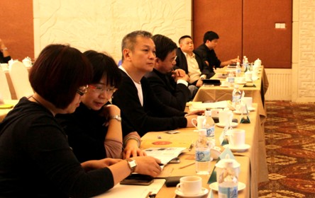 中影集团凌红女士,钟明岚女士,陈德森导演 聆听青年导演们的电影项目