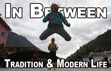 Link to In between tradition and modern life