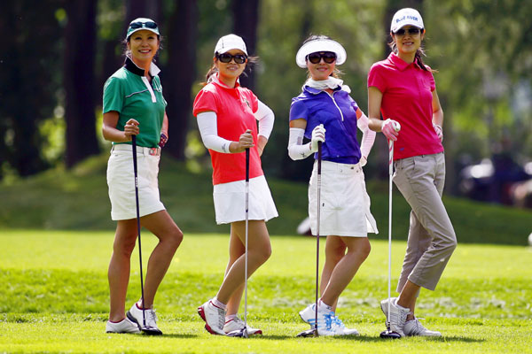 More women on the fairways