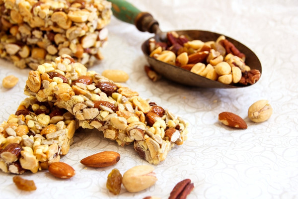 Naturally sweet granola bars are sure to be a hit with kids