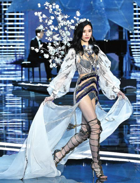 Record number of Chinese models join Shanghai lingerie