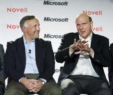 Microsoft et Novell D Day