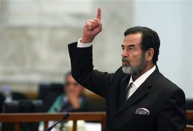 crimes against humanity iraq under saddam Saddam hussein[april 28, 1937–]late-twentieth-century dictator of iraq source for information on saddam hussein: encyclopedia of genocide and crimes against humanity dictionary.