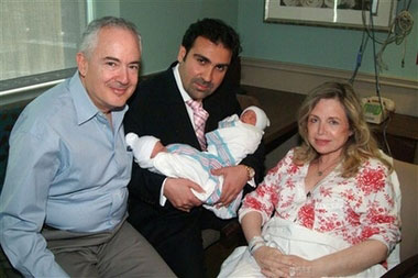 US woman, 60, gives birth to twin boys