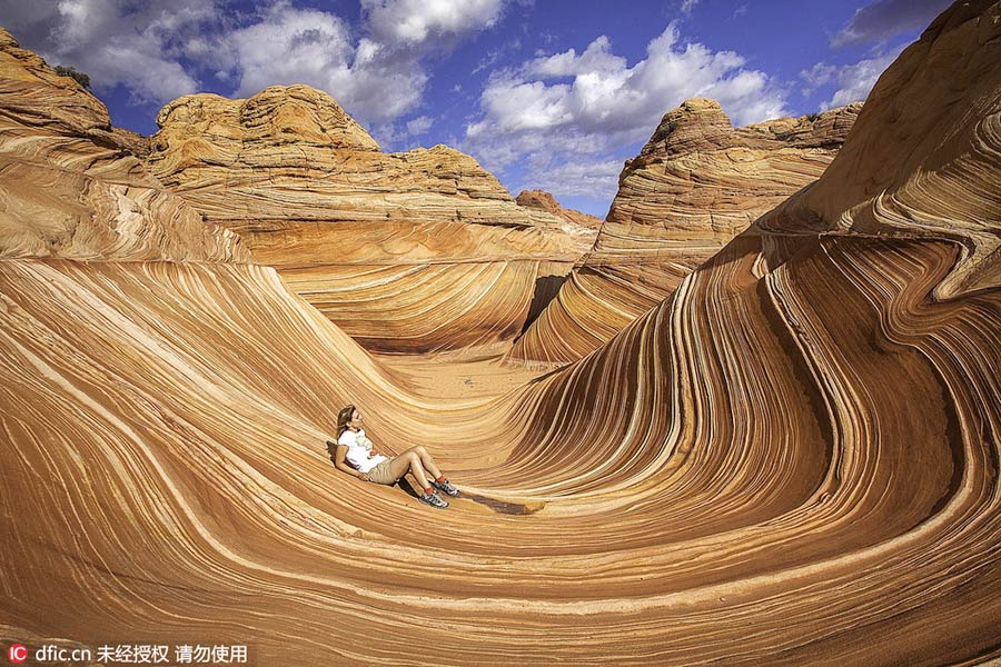 Alien-looking landscape: Paria Canyon in Arizona[1]
