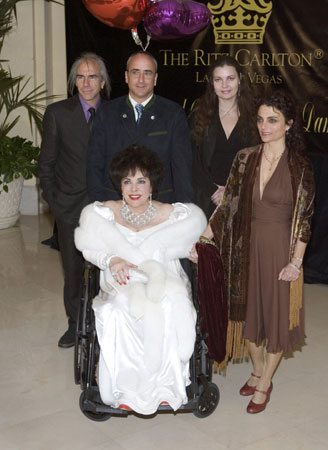 Elizabeth Taylor's 75th birthday party