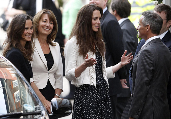 Kate Spotted One Day Before The Wedding